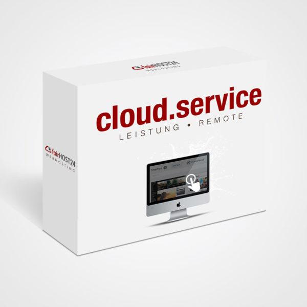 Cloud-Service buchen